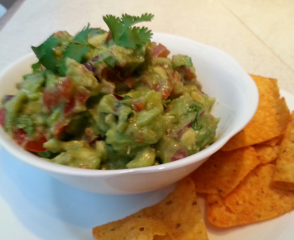 The best ever chunky guacamole!