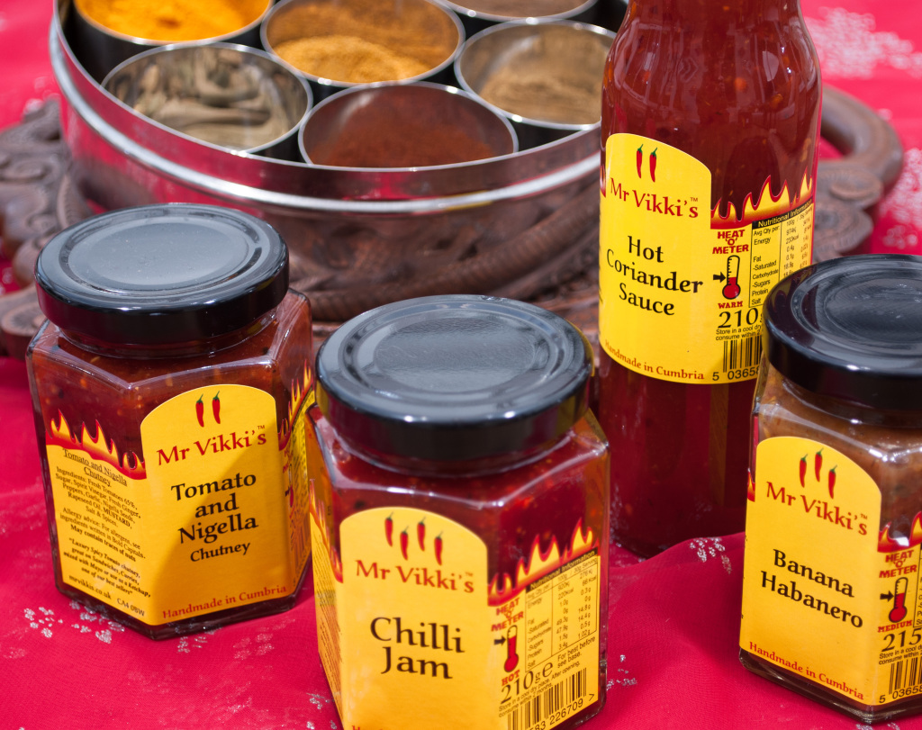 Mr Vikkis' Chutneys & sauces